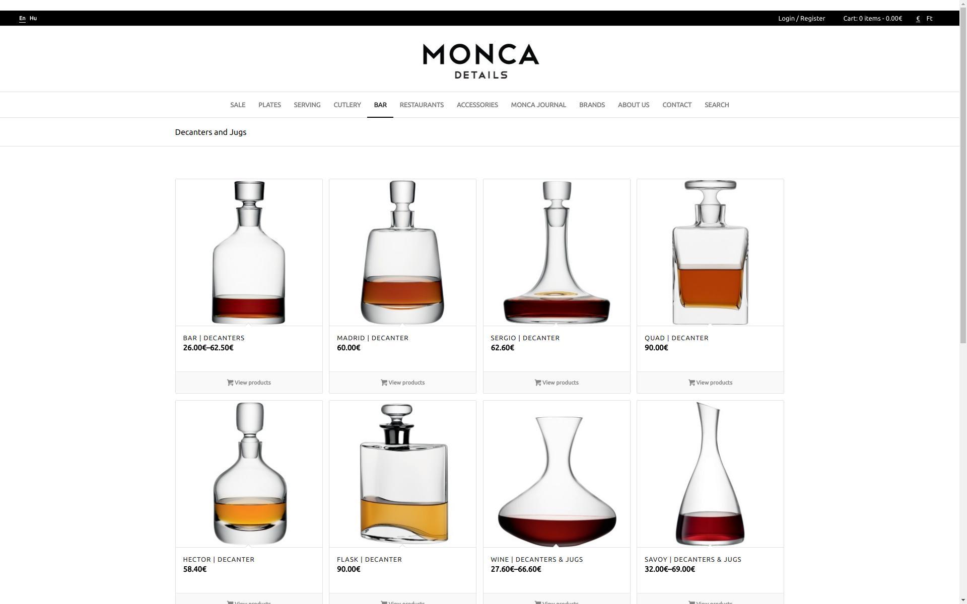 «Munkáinkból: Monca Details » Weboldal készítés | Webshop készítés | Technikai SEO > info@webrockets.hu