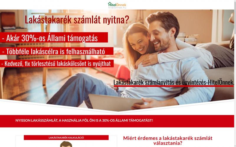 «Munkáinkból: Hitel Önnek » Weboldal készítés | Webshop készítés | Arculati tervezés > info@webrockets.hu